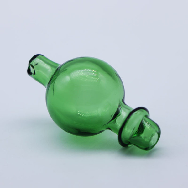 Glass Bubble Carb Cap with Side Hole 25mm OD For Quartz Ball Insert Quartz Thermal Banger Thick Bottom Banger Glass Bongs Dab Rigs
