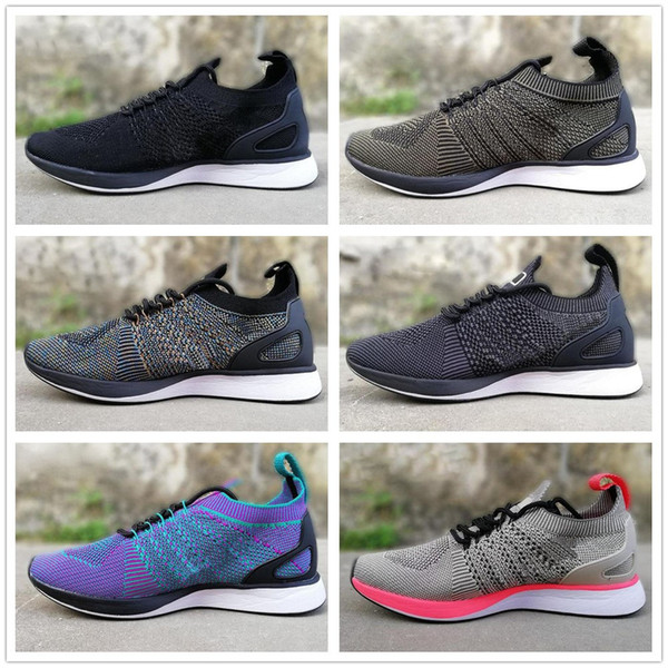 07045d853a21 2017 Newest Air Zoom Mariah Fly Racer 2 Women Men Athletic casual Shoes  Black AIR Zoom