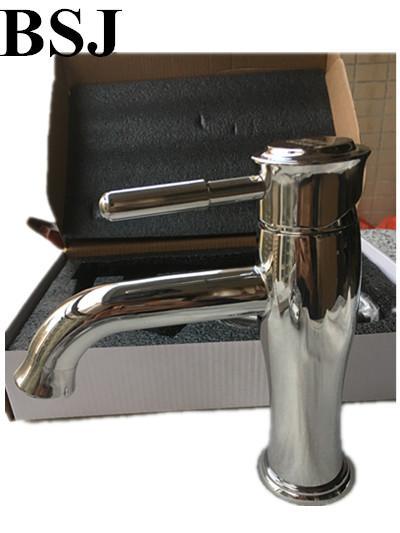Sus304 Wash Basin washroom Polished Sink Faucet Waterfall Mixer Tap Bath Bathroom Mix Water Bathroom Faucets Single Handle