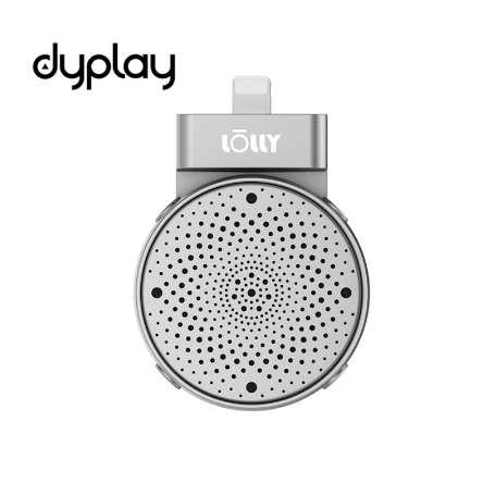 dyplay Lolly Digital 3D Stereo Cardioid Condenser Microphone for iPhone/iPad Recording for Youtube, Gaming, Podcasting Live