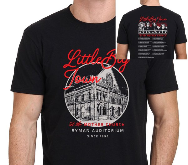 Little Big Town Tour 2017 en The Mother Church Camiseta hombre talla S-to-XXL