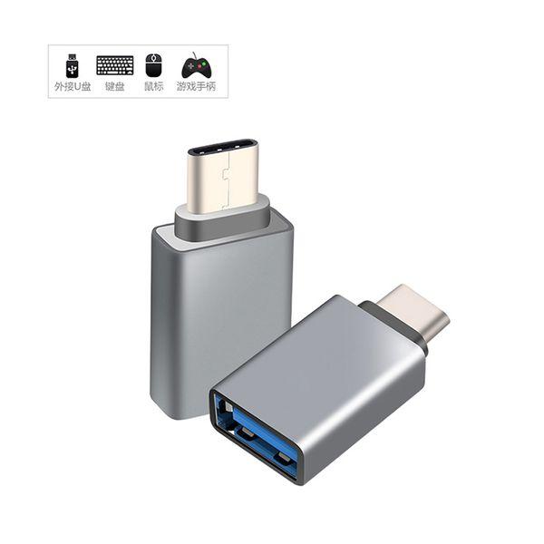 Usb 3.0 tipo c adaptador usb c macho para 3.0 feminino otg adapter converter para xiaomi oneplus para lg nexus 5x 6 p tipo-c fio