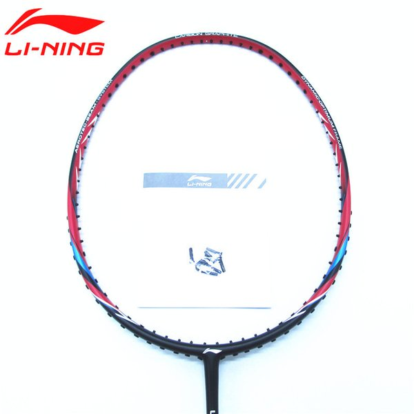 2017 Newest Badminton Rackets Full Carbon US 17 Slim Shaft LiNing Racquets AYPM226 Lining High Tension L742