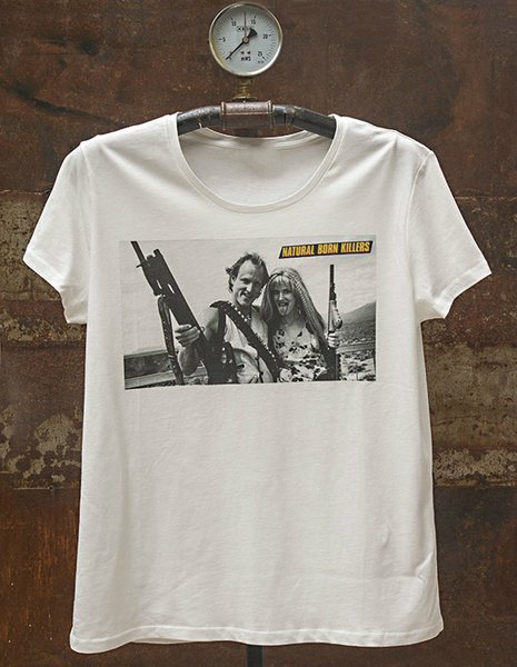 Natural Born Killers Men T-shirt Tee Shirt Casual Short Sleeve Summer Cotton T-Shirt Fashion Short Sleeves 100% Cotton