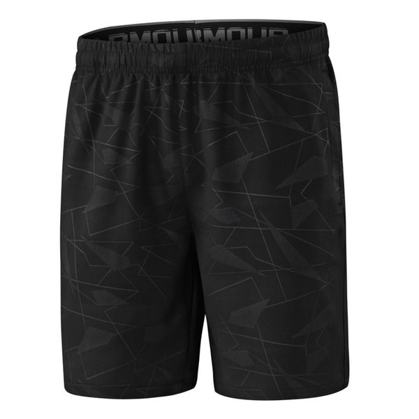 ZLWENY 2018 Geometric Men's Shorts 6XL Summer Mens Beach Shorts Cotton Casual Male homme Brand Compression Shorts