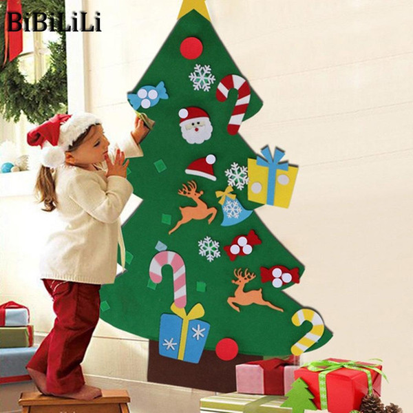 Christmas Tree Toys Handmade.Children Decorations Stereo Typeb Handmade Christmas Typec Typea Christmas Toys Old Over Tree 3 Diy Puzzle Years Christmas Decorating Home Christmas