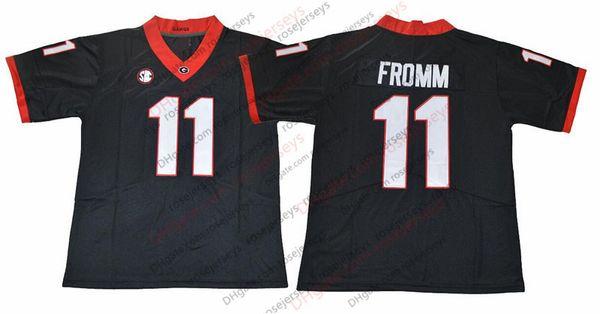 11 Jake Fromm Negro