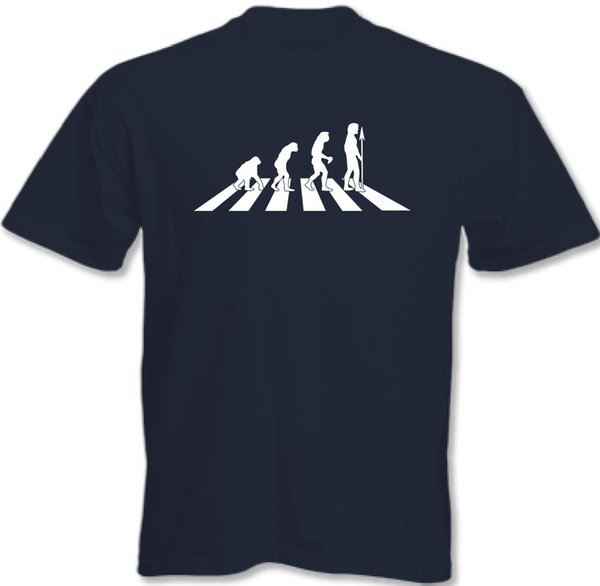 The Beatles Evolution Abbey Road - Mens Funny T-ShirtFunny free shipping Unisex Casual tee gift