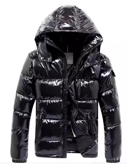 Mens giacca di marca nuovo famoso marchio di design di alta qualità bianco anatra uomini giù cappotto uomo giù Parka di lusso caldo outwear giù cappotto opaco