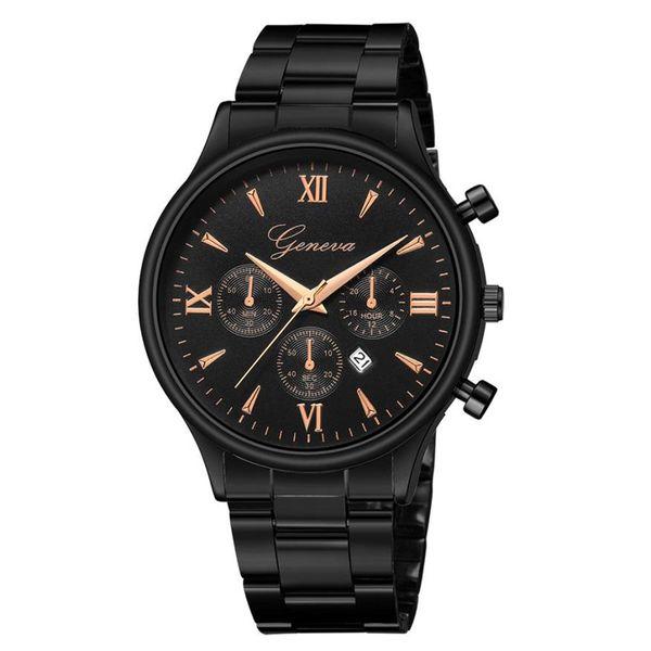 Luxury Top Brand Men Sport Business Watches Mens Analog Watch Male Army Stainless Quartz Clock Relogio Masculino #C