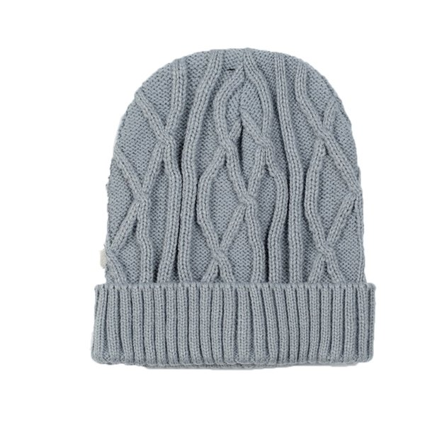 YJSFG HOUSE Winter Beanie Hat Skully Trendy Warm Chunky Soft Stretch Cable Knit Slouchy Beanie Winter Hats Women Ski Cap