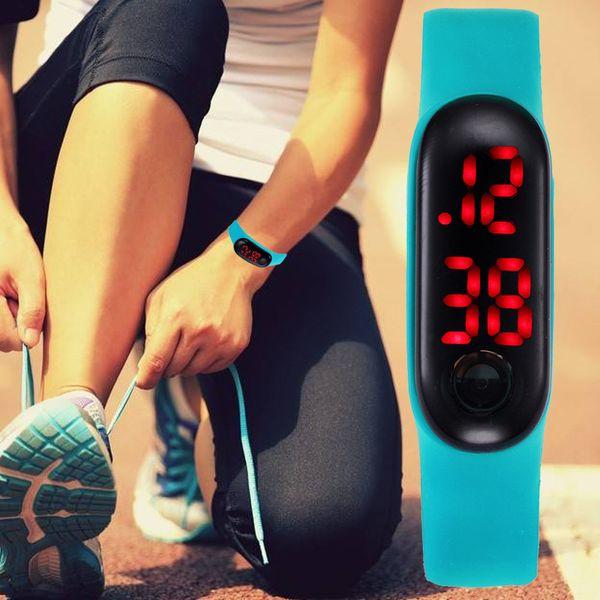 New Fashion Casual Men Sports Digital Watch Step Counter distance & calorie calculation Men's Watches Digital montre digitale 65