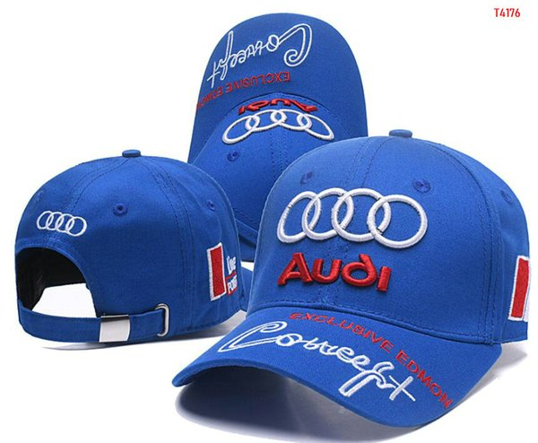 2019 New Sale bone gorras Benz BMW AUDI Hat F1 Champion Racing Sports AMG Automobile Trucker Men Hats Adjustable Golf Cap Sun Hat 00
