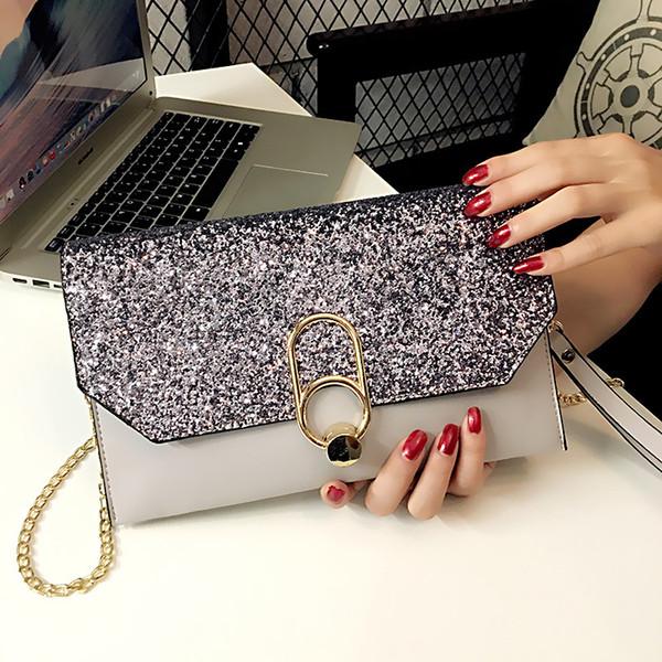 Crossbody Evening Clutch Bags For Women 2018 Leather Luxury Purses And Handbags Women Evening Bags Designer Small Messenger Bag