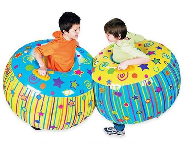 야외 활동 풍선 풍선 버퍼 충돌 바디 범퍼 공 친절한 어린이 재미있는 바디 펀치 공