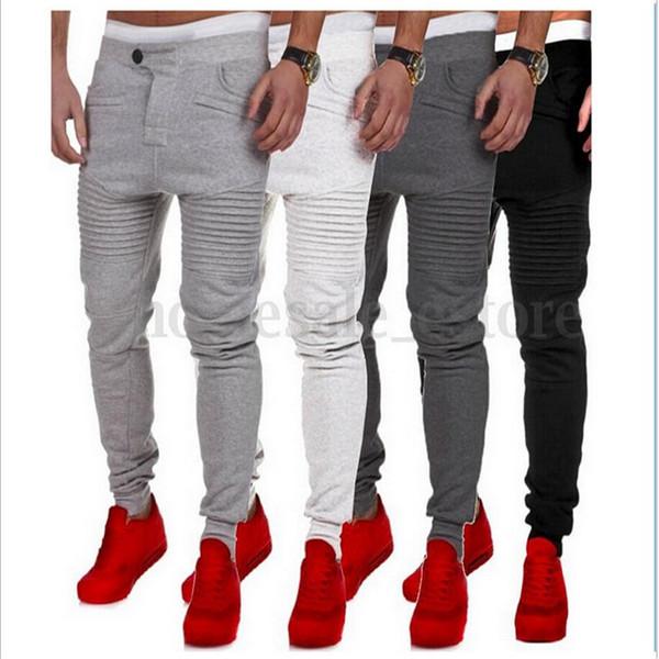 best selling 2018 Casual Pants Spring New Elastic Waist Male Sweatpants Loose Fit Trousers Mens Joggers Sportwear Pants For Men