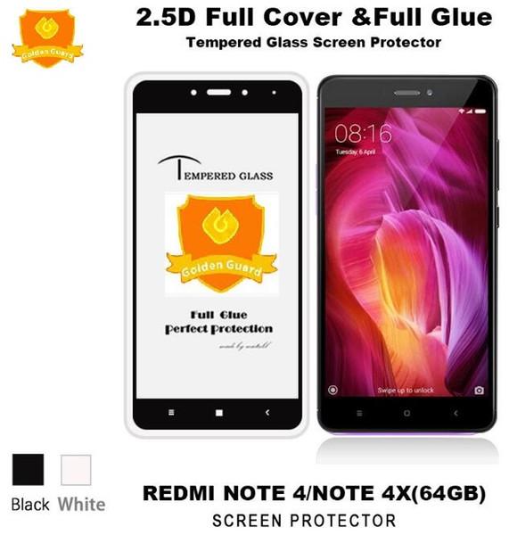 Pour Xiaomi Redmi Note 4 4X 9H Colle Verre Trempé Pleine Couverture Pour Xiaomi Redmi 8 SE S2 Y2 Inde Redmi 6A 6 Pro Plus A2 Lite