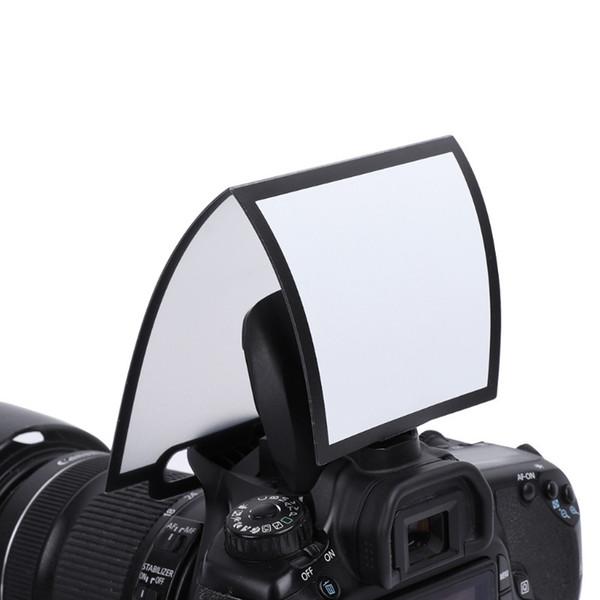 50pcs/lot Universal hard Screen Pop-Up Flash Diffuser Softbox Black Clear Reflector For Yongnuo canon niokn all camera