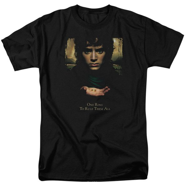 The Lord Of The Rings Movie Frodo One Ring Licensed Adult Pullover Hoodie