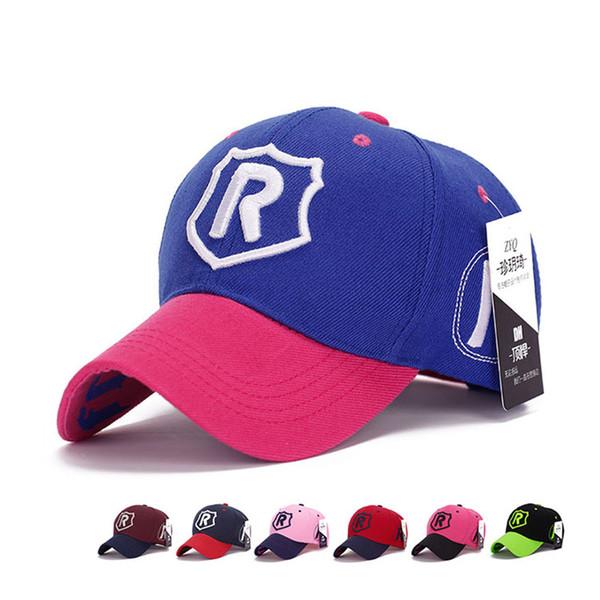 Unisex Baseball Cap High Quality Embroidery Letter R Golf Hat Summer Spring Sun Dad Hat For Men Women Bone Gorra Casquette