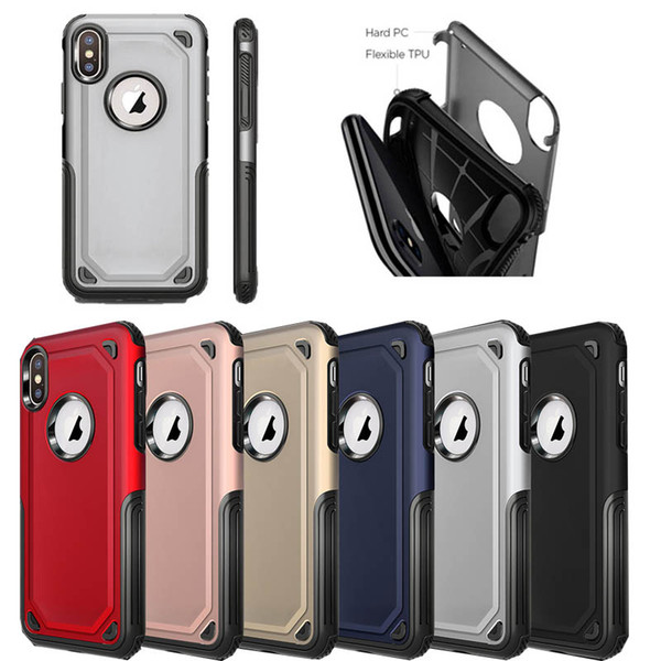 best selling 2 in 1 Matte Shell Frosted Hybrid Armor Case Slim Back Cover For iPhone 12 Min 11 Pro Max XR XS MAX 8 7 6 6S Plus