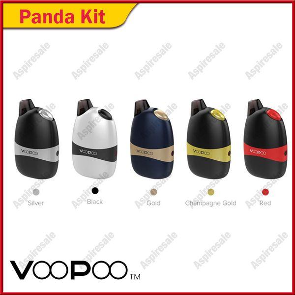 Auténtica VOOPOO Panda AIO Pod Kit 1100mAh batería incorporada con 5 ml portátil All-In-One Pod 100% Original