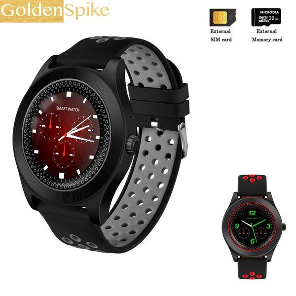 Fitness Tracker smartwatch TF8 support 2G SIM/TF card sport smart watch men for HUAWEI xiaomi Lenovo gear s3