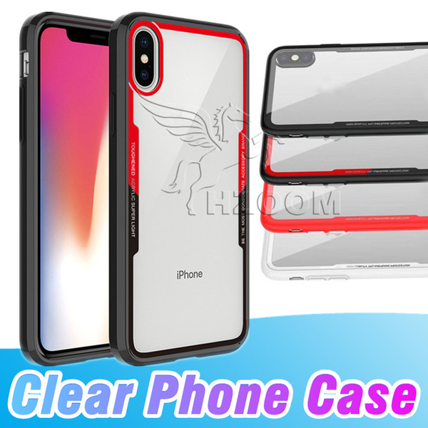 2018 Newest Arrival Soft Clear Cases For IPhone X 8 7Plus 6S Anti Shock For Samsung Galaxy Note8 S9 Plus S8 A8 J8 Cradle Design