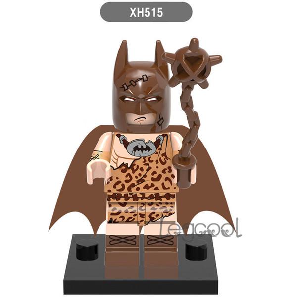 Clan of the Cave Batman wholesale 10 pcs XH 515 DC Super Heroes Fairy Batman Joker Rainbow Building Block Bricks Figures Toys for Children