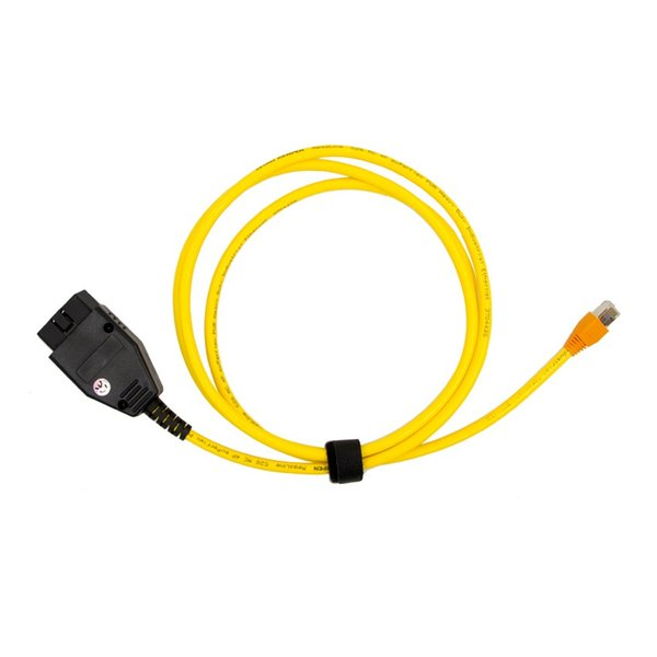 20pcs New arrival for BMW ENET Ethernet to OBD Interface Cable E-SYS ICOM Coding F-Series Diagnostic Cable