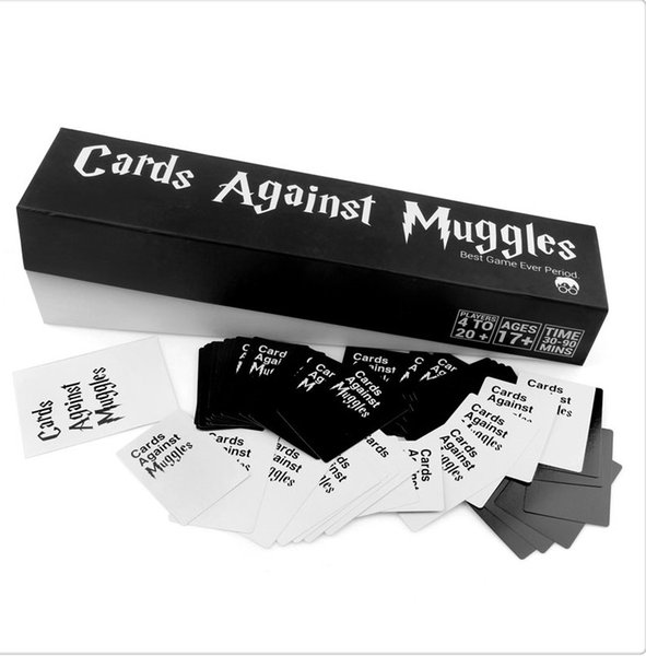Cards Agains Muggles The Harry Potter Version Card Games Funny Cards Game For Adult Cards Games for 17 Years Old above Free Shipping