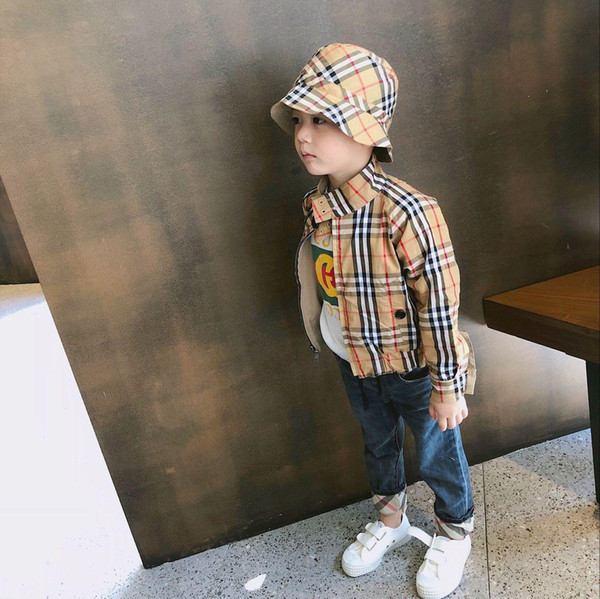 Goods In Stock 2018 Early Autumn Neutral Fund Both Sides Clothes Jacket Loose Coat Wq0340