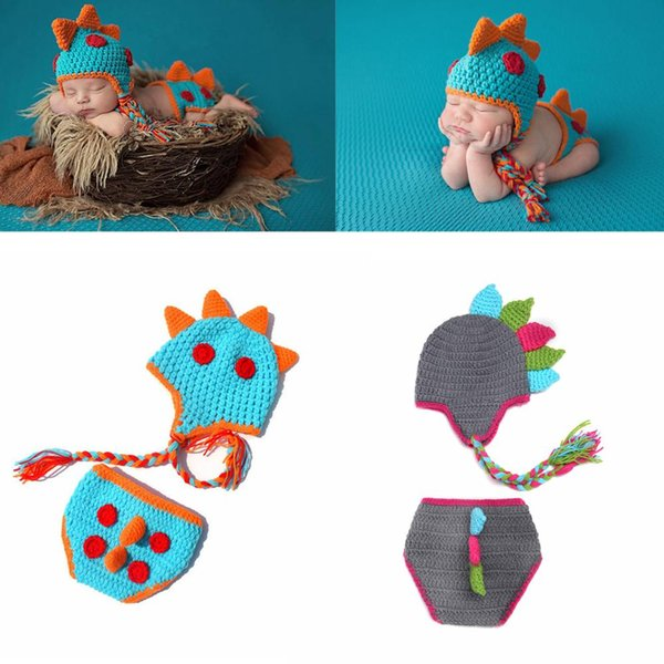 Compre Infant Crochet Photography Set Newborn Photography Props ...
