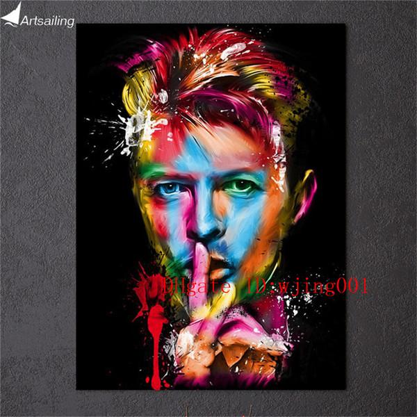 Cantante de rock David Bowie, Canvas Pieces Home Decor HD Impreso pintura de arte moderno sobre lienzo (Sin enmarcar / Enmarcado)