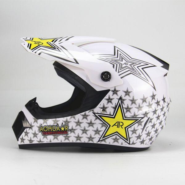 2018 Professional Racing Motocross Casque Hors Route Casque Moto Capacete Moto Casco Off Road Cartoon Children Motorcycle Helmet Special Motorcycle