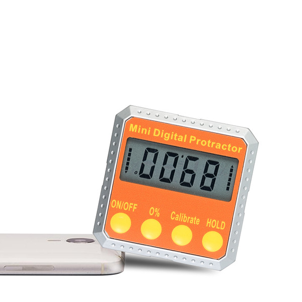 Digital Protractor Mini angle ruler Level / Bevel Gauge / Finder angle measuring tool with Embedded Magnets