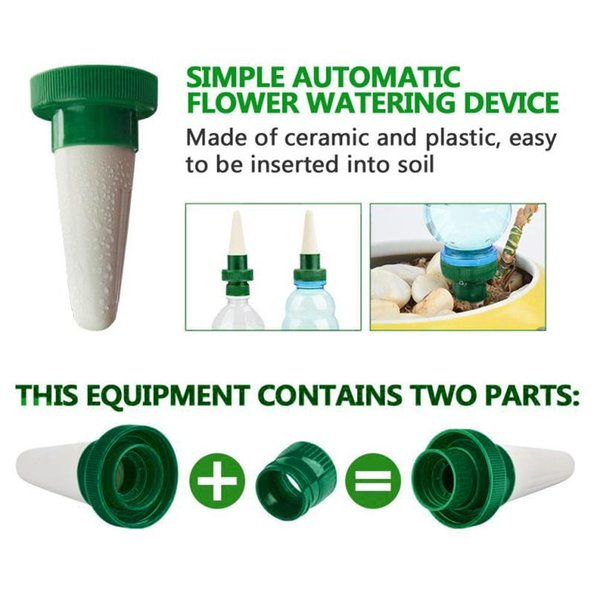 4Pcs Practical Plant Waterer Self Plant Watering Devices For Potted Flower Drip Irrigation Planter Watering Kits