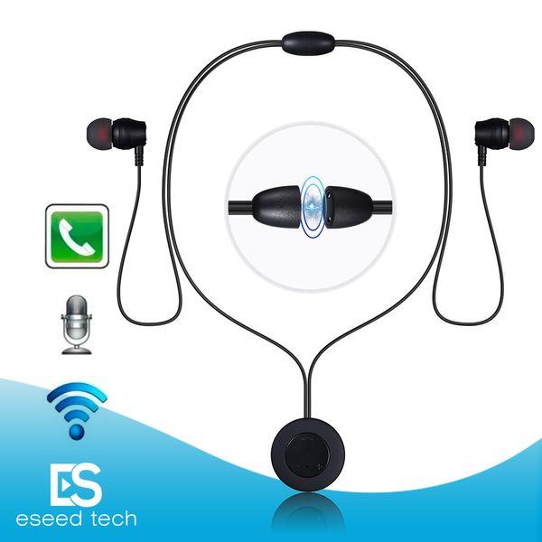 XT-8 Auriculares inalámbricos Bluetooth Neckband Auriculares Auriculares Metal Deporte magnético Auriculares intrauditivos con control de música Mic para iPhone X Samsung