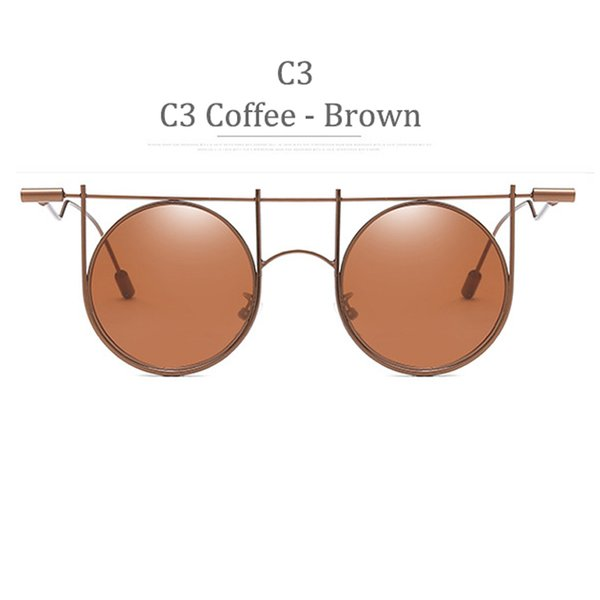 C3 telaio del caffè Brown Lens