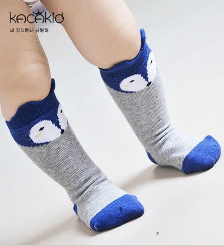 Schöne Baby Socken Knie Mädchen Junge Baby Kleinkind Socken Niedlichen Cartoon Tier Kinder Socken Infant Weiche Baumwolle