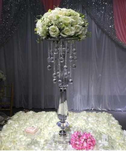 Wondrous 2019 Elegant Tall 70Cm Tall Crystal Wedding Centerpiece Wedding Table Flower Stand Party Decoration From Forever924 43 22 Dhgate Com Interior Design Ideas Tzicisoteloinfo