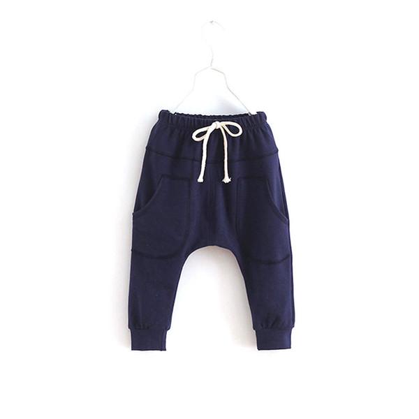 2018 Spring Autumn Kids Legging Sports Fitness Kid Toddler Child Harem Pants Baby Boy Girl Trousers Bottoms