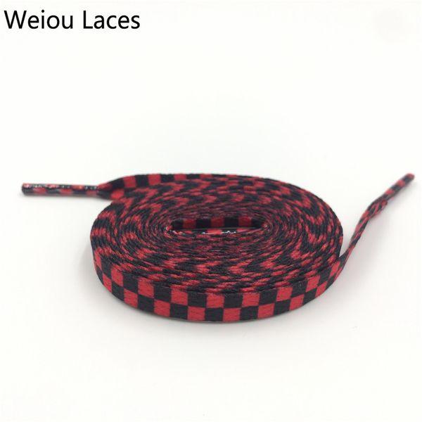 # 711 Plaid Negro-Rojo 160cm