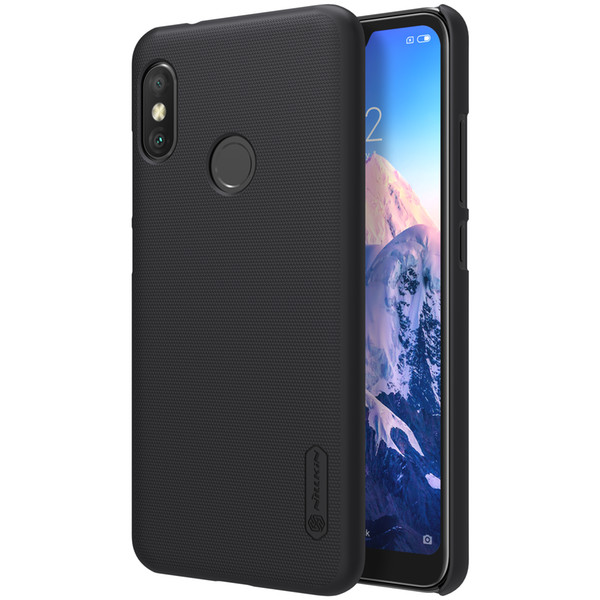 xiaomi redmi 6 pro case NILLKIN Super Frosted Shield hard back cover case for xiaomi redmi 6Pro 5.84 inch gift screen protector