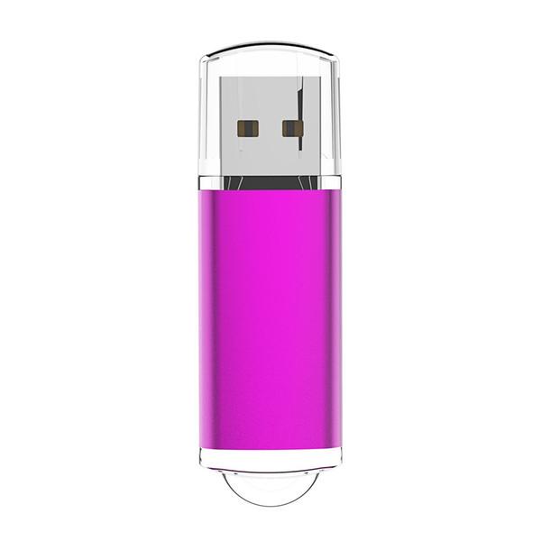 Pink Rectangle 64GB USB Flash Drive Enough Memory Sticks 64gb Flash Pen Drive for Computer Laptop Macbook Tablet Thumb Pen Storage