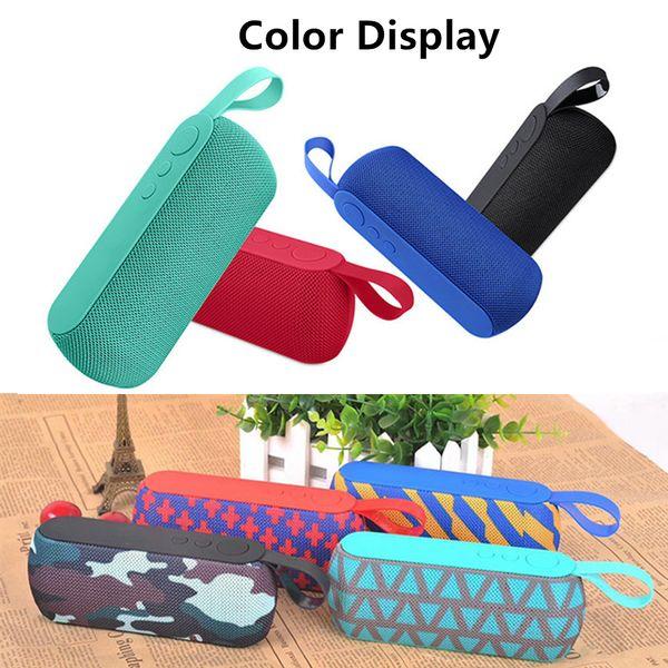 Mode Mini Bluetooth Lautsprecher Outdoor Tragbare Drahtlose Lautsprecher Sound System 3D Stereo Musik Surround mit Mikrofon Unterstützung TF Karte AUX USB
