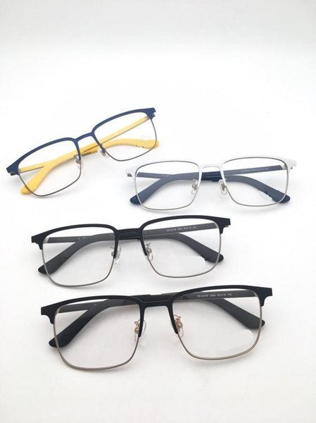 In 2018, the new style of eyeglasses with the same frame for men and women can be matched with four fashionable colors