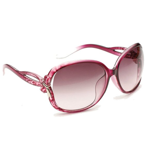 4eee09e06 Hot Moda Óculos De Sol Das Mulheres Clássico Designer De Marca Feminina  Twin-Vigas Espelho