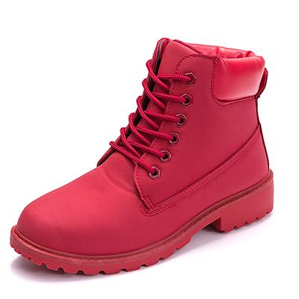 kırmızı Boots