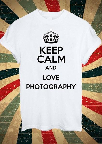 Satın Al Kelp Sakin Ve Aşk Fotoğraf Tumblr Moda T Shirt Erkek Kadın